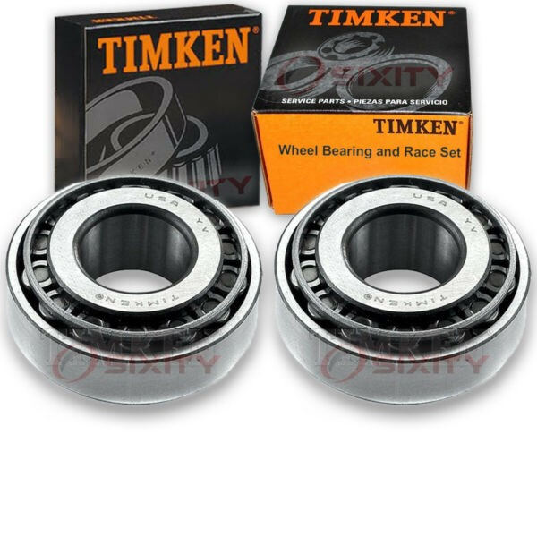 Timken Front Outer Wheel Bearing & Race Set for 1975-1980 Chevrolet K5 Blaze vr