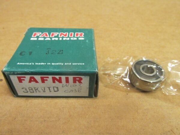 NIB FAFNIR 38KVTD BEARING SEALED 38 KVTD 8mm ID 24mm OD 13/32