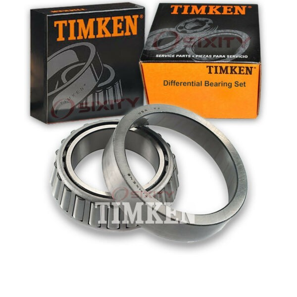 Timken Rear Differential Bearing Set for 1996 GMC Savana 3500  nt