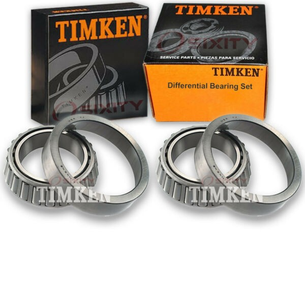 Timken Rear Differential Bearing Set for 1983-1996 Chevrolet G30  pn