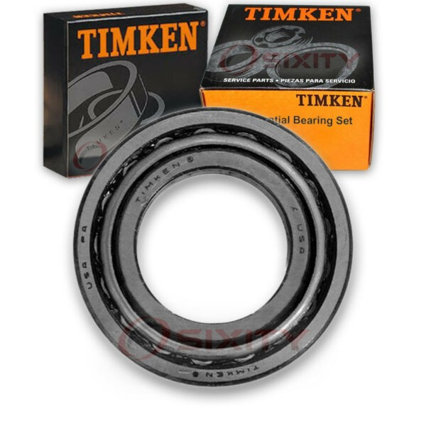 Timken Differential Bearing Set for 1994-1997 Ford Aspire  bv