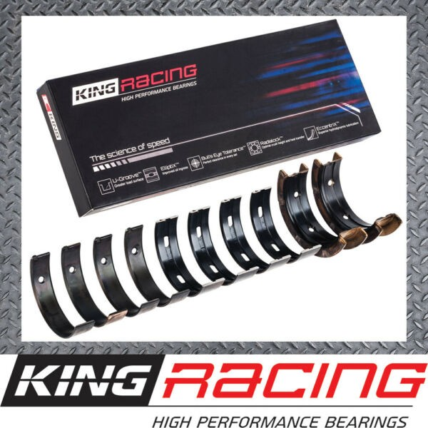 King Racing +010 Set of 5 Main Bearings suits FPV (Ford Performance Vehicles) 5.