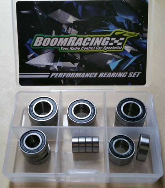Thunder Tiger ER4 G3 Ball Bearing Set of 18 High Performance Bearings