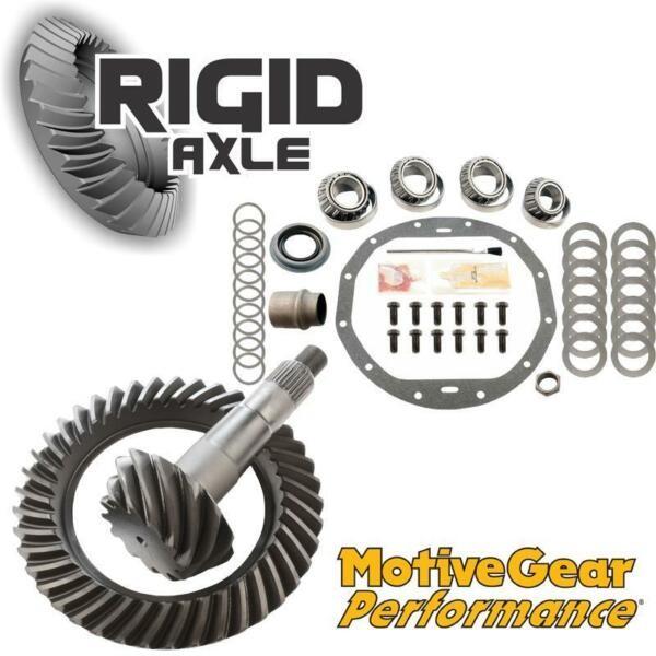 3.73 Motive Performance Ring Pinion Gear Set Bearing Kit GM 8.875