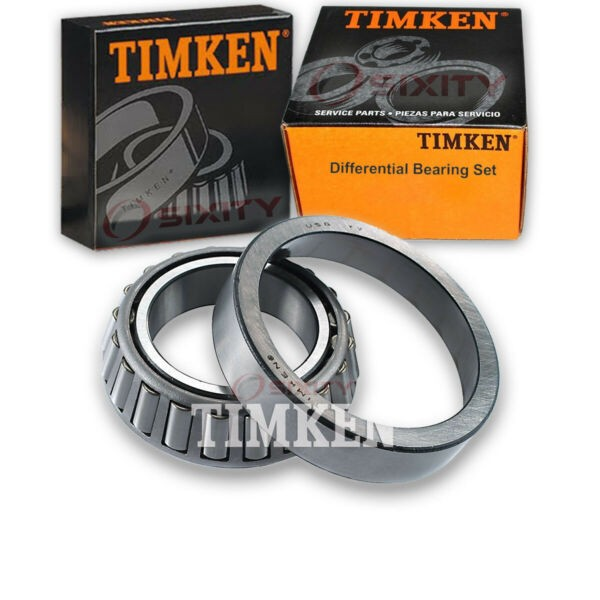 Timken Rear Right Differential Bearing Set for 1970 Buick Estate Wagon  rt
