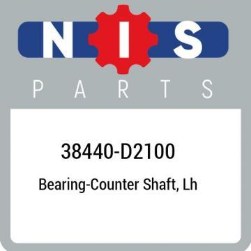 38440-D2100 Nissan Bearing-counter shaft, lh 38440D2100, New Genuine OEM Part