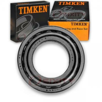 Timken Rear Outer Wheel Bearing & Race Set for 1975-1989 Chevrolet P20  yo