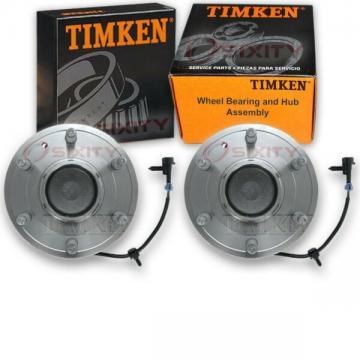 Timken Front Wheel Bearing & Hub Assembly for 2003-2005 GMC Savana 2500 Pair at