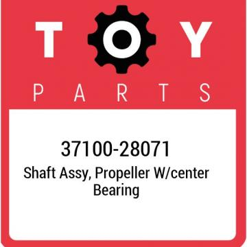 37100-28071 Toyota Shaft assy, propeller w/center bearing 3710028071, New Genuin