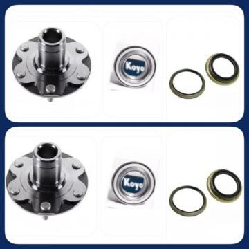 FRONT WHEEL HUB &OEM KOYO BEARING &SEAL FOR TOYOTA TUNDRA 2000-06) 4WD ONLY PAIR