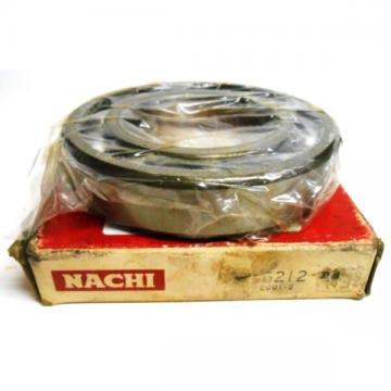 NACHI BALL BEARING, 6212, SINGLE ROW, DEEP GROOVE, 100MM OD