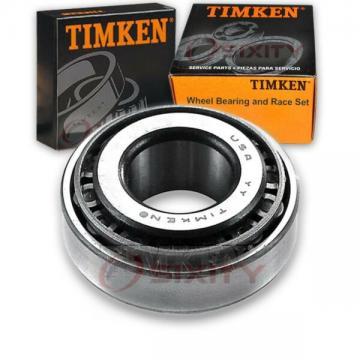 Timken Rear Outer Wheel Bearing & Race Set for 1975-1984 Volkswagen Rabbit  db