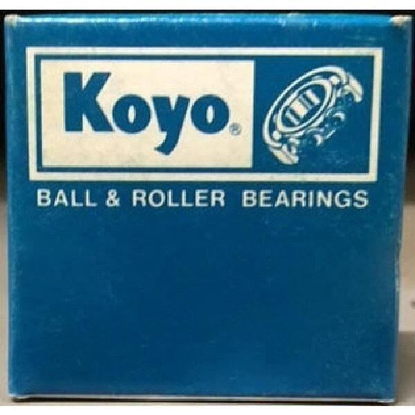 KOYO JTT-87 Needle Roller Bearingd Drawn Cup, Open End, Double Sealed, Steel ... #1 image