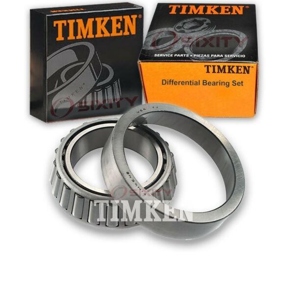 Timken Rear Differential Bearing Set for 1996 GMC Savana 3500  nt #1 image